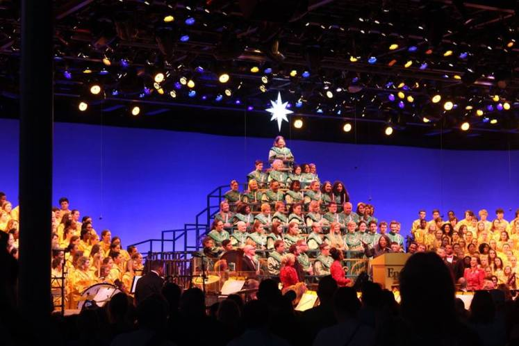Disney College Program candlelight processional