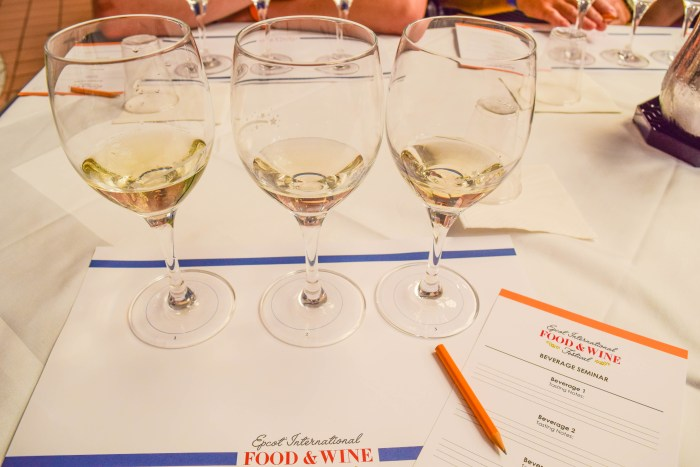 Epcot Food Wine Beverage Seminar