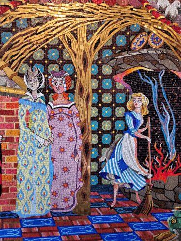 Cinderella Castle Mural, Magic Kingdom Itinerary