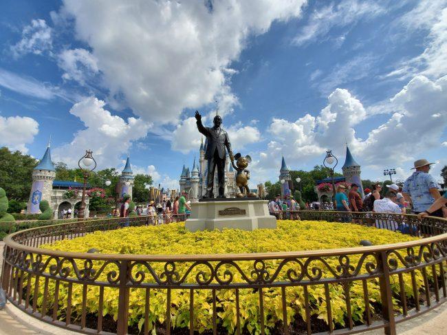 Partners Statue with Walt Disney and Mickey, Magic Kingdom Itinerary