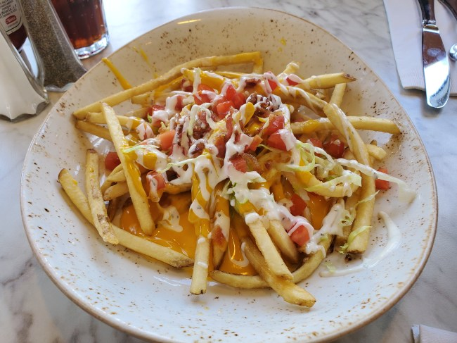 Plaza Fries from the Plaza Restaurant
