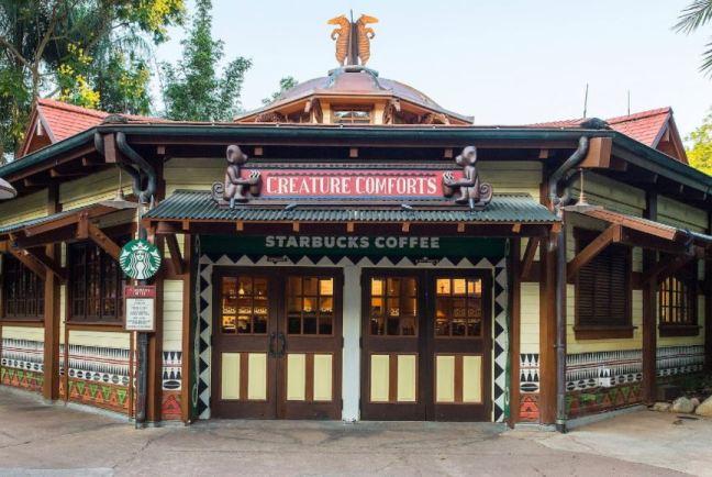 Starbucks at Animal Kingdom