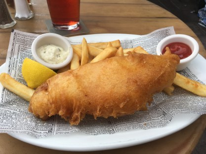 Fish and Chips - Found at the Rose and Crown in the United Kingdom Pavilion at EPCOT