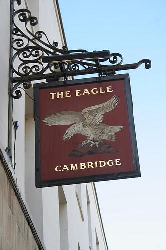 The Eagle Pub (Photo by Richard Carter)