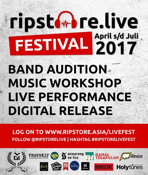 Ripstore Live Festival Top 10 Band Audition