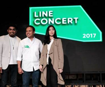 LINE Concert Press Conference