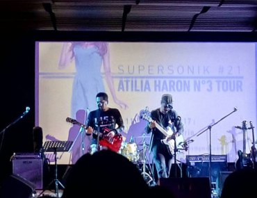 Atilia Haron on Supersonik #21 at IFI Jakarta