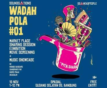 Wadah Pola #01 A Regular Thematic Marketplace in Bandung