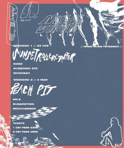 Noisewhore Live Presents Sunset Rollercoaster and Peach Pit