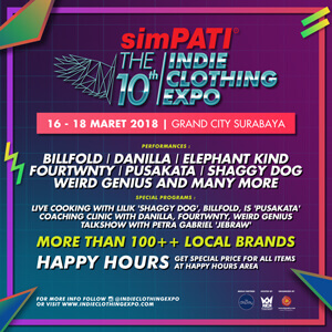 SIMPATI THE 10th INDIE CLOTHING EXPO