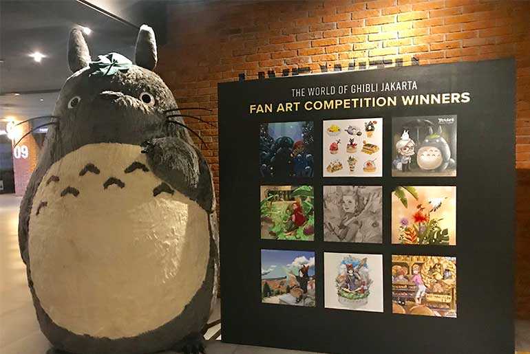 Studio Ghibli Farewell in Indonesia