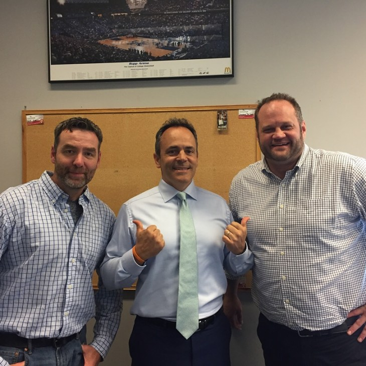 Disruption Zone –  Episode 5: Governor Matt Bevin On Life, Work Ethic, Raising Kids And The Importance Of Boldness