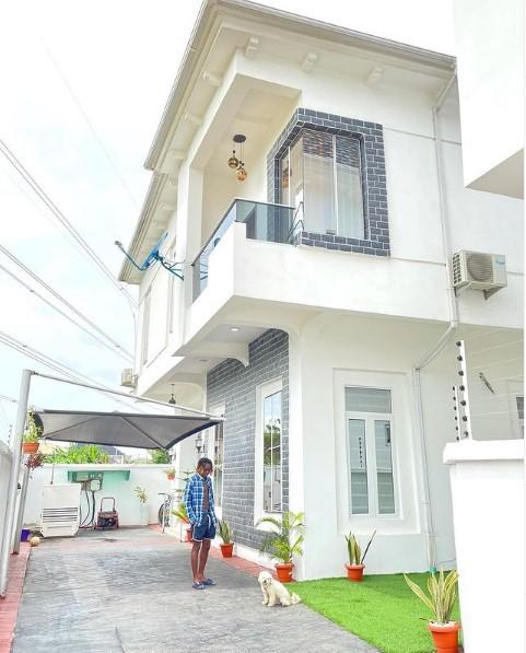 Fast rising Nigerian musician, Adedamola Adefolahan, known professionally as Fireboy DML gets himself a house.