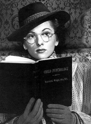 "Joan Fontaine in Alfred Hitchcock's ""Suspicion"""