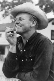 Nevada dude ranch wrangler and author, Bill McGee, 1947