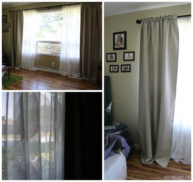 curtain poles ikea