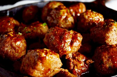 Hawaiian Meatballs