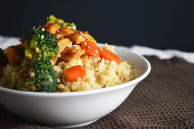 Chicken Quinoa Stir Fry