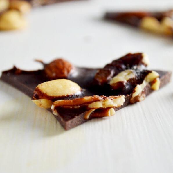 Clean Eating Chocolate Bark