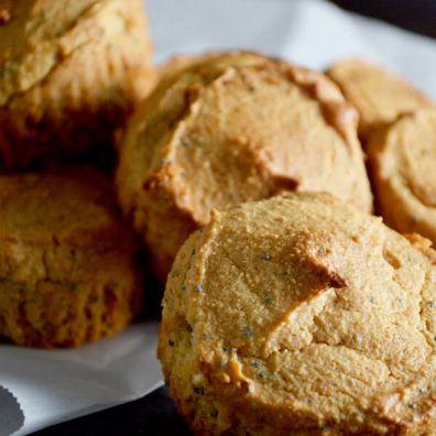 gluten free poppyseed muffins