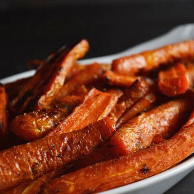 Caramelized Roasted Carrots