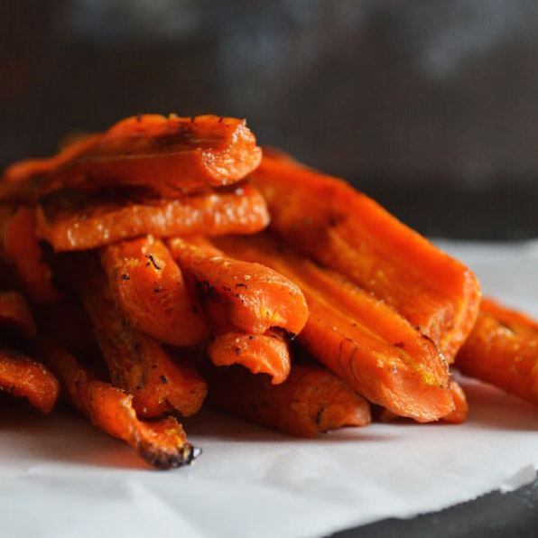 Caramelized Roasted Carrots