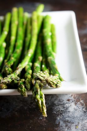 15 Minute Roasted Asparagus