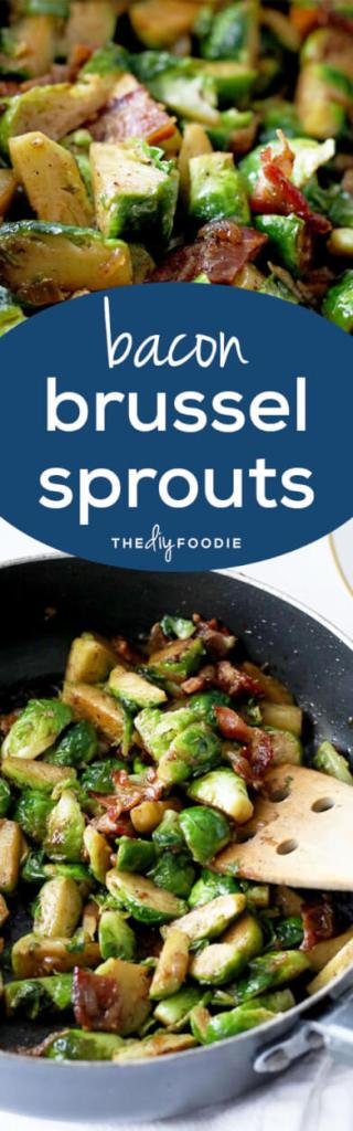 Caramelized Onion and Bacon Brussel Sprouts are to die for!