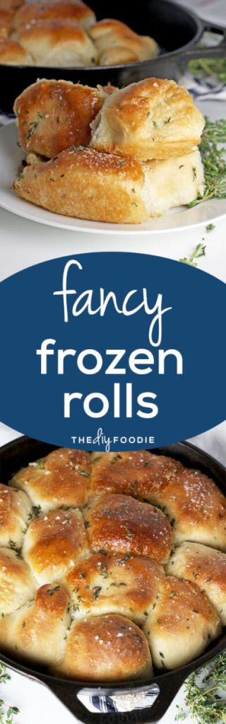 fancy frozen rolls