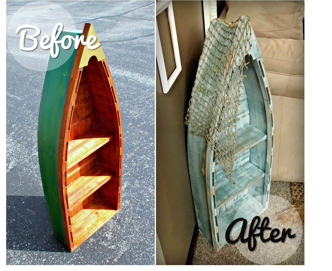 Diy Boat Bookshelf Easy Craft Ideas