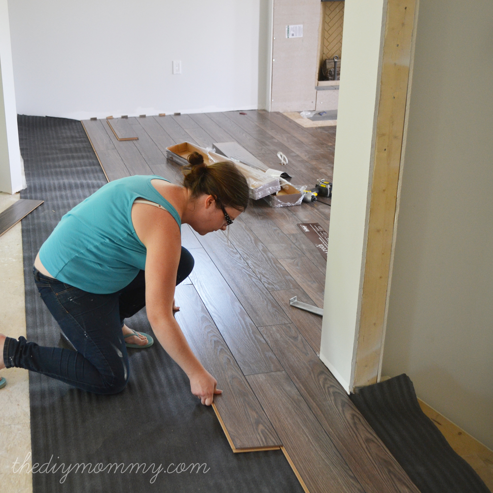 Image Result For How Hard Is It To Install Laminate Flooring Yourself