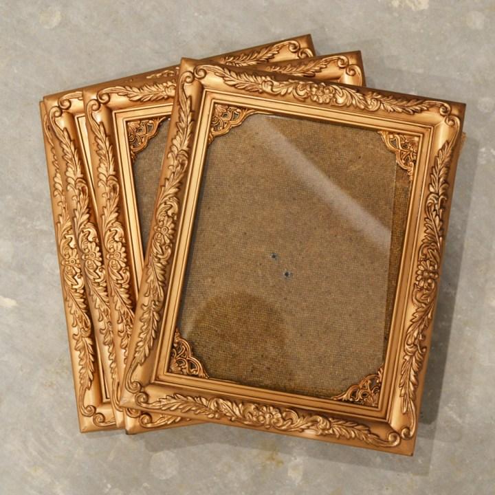 Diy Antique Picture Frames | secondtofirst.com