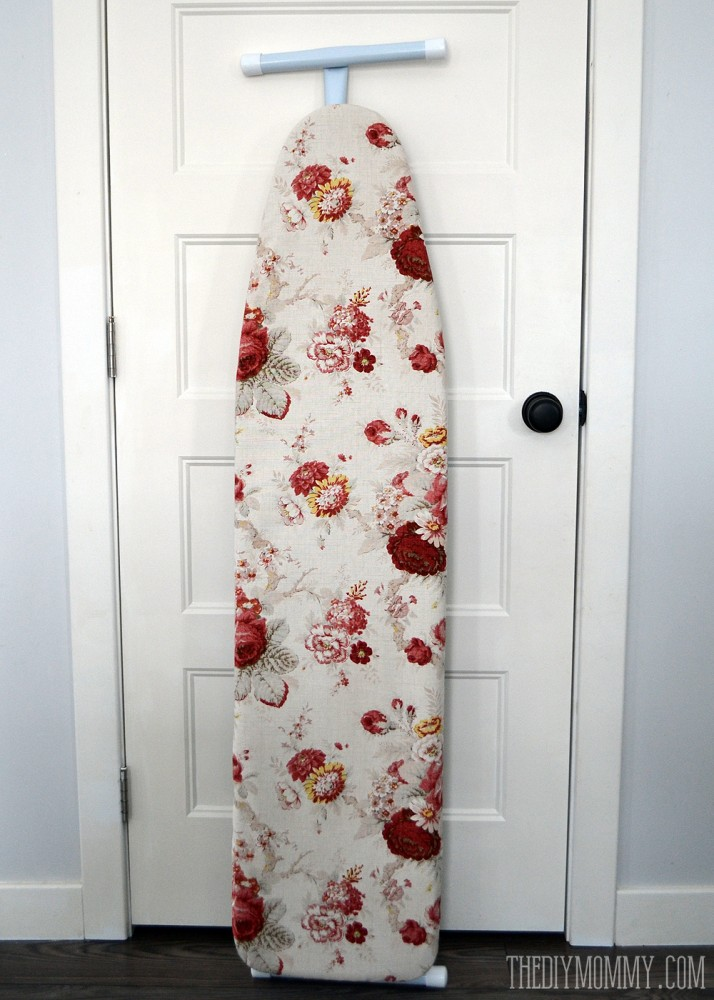 Diy Easy Floral Ironing Board Cover Tutorial 2 714x1000 Jpg