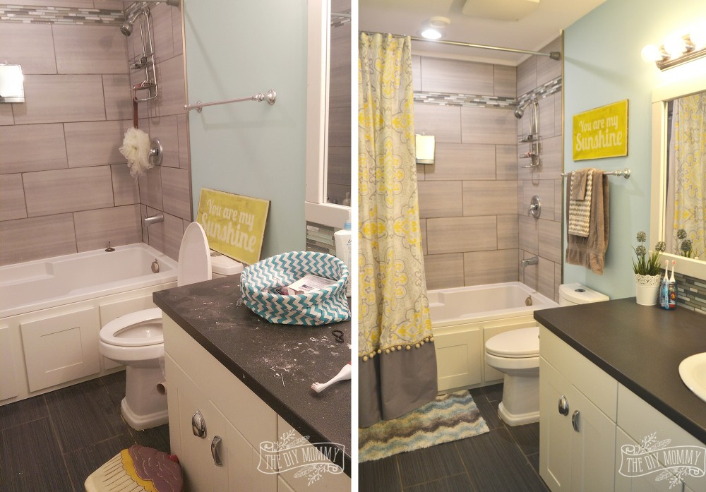 Kids' Bathroom Reveal And Some Great Tips For Post-reno