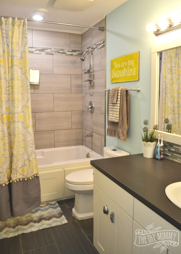 Kids' Bathroom Reveal and some great tips for post-reno ... on Small:e_D8Ihxdoce= Restroom Ideas  id=91516