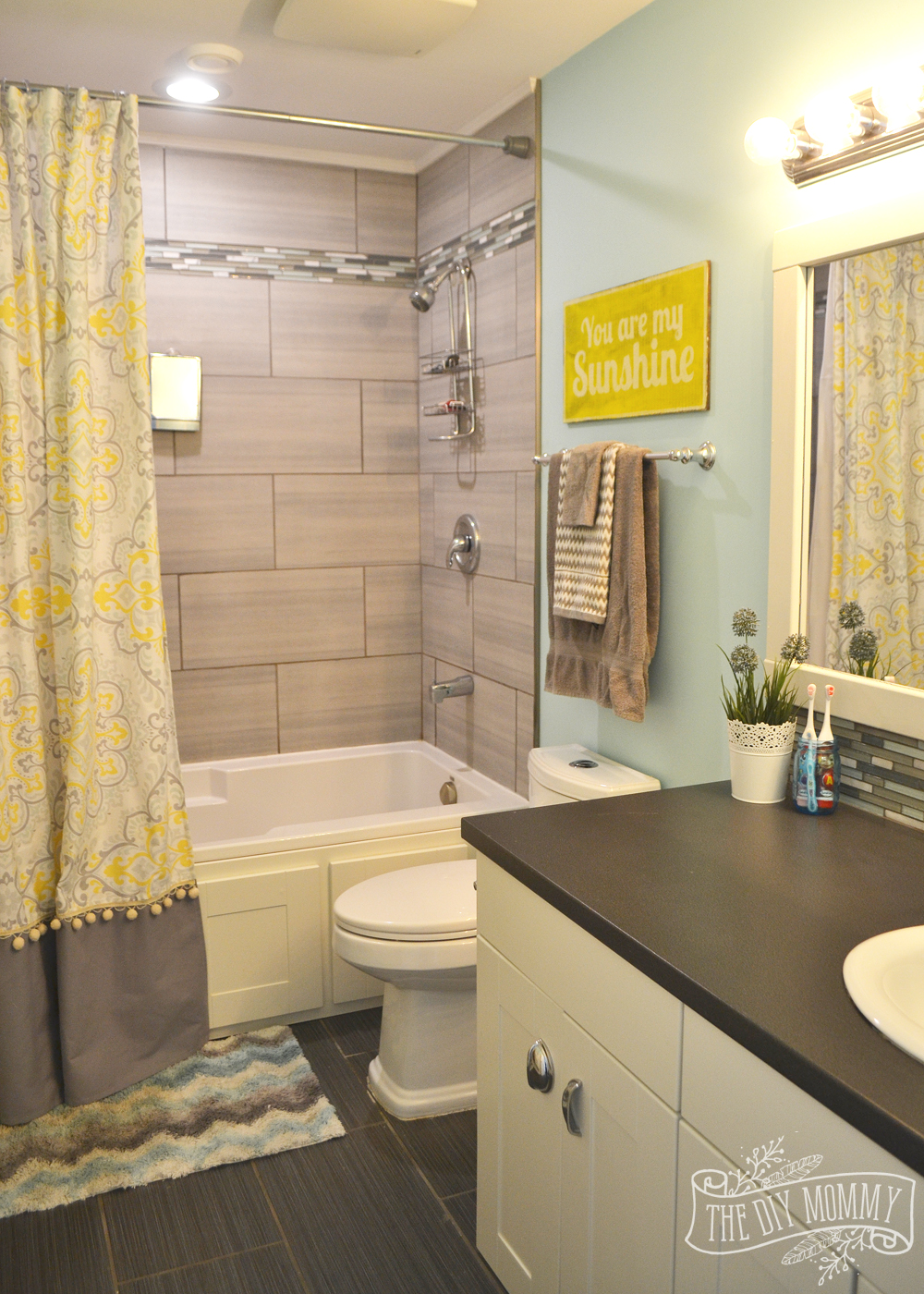 Kids' Bathroom Reveal and some great tips for post-reno ... on Fun Bathroom Ideas  id=25910