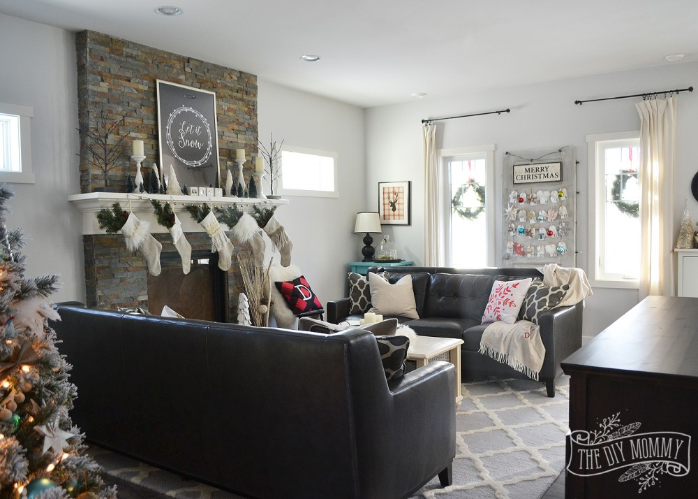 2015 Christmas Home Tour A Canadian Prairie Christmas