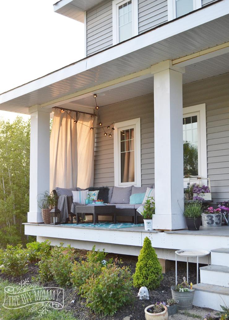 Country Farmhouse Porch Decor Ideas (with a Boho Twist!) on Country Patio Ideas id=98748