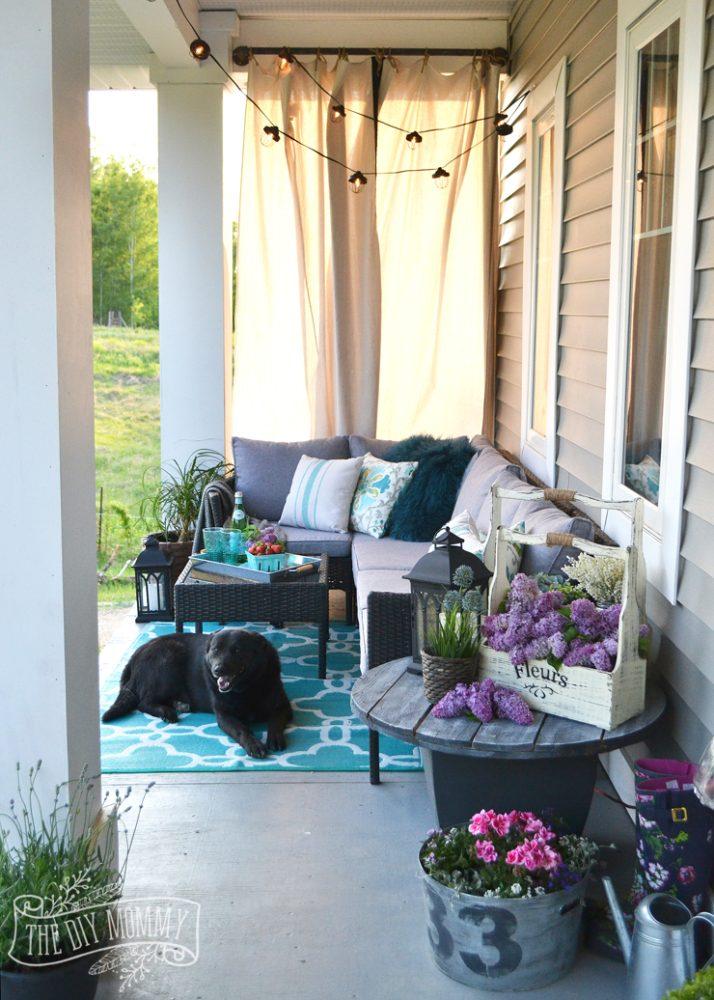 Country Farmhouse Porch Decor Ideas (with a Boho Twist!) on Country Patio Ideas id=15279