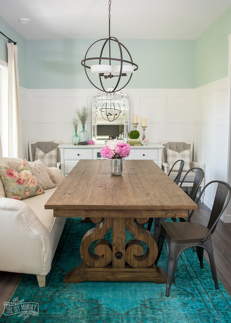The Magic of Accessories: Our Summer Dining Room Decor on Room Decoration  id=56064
