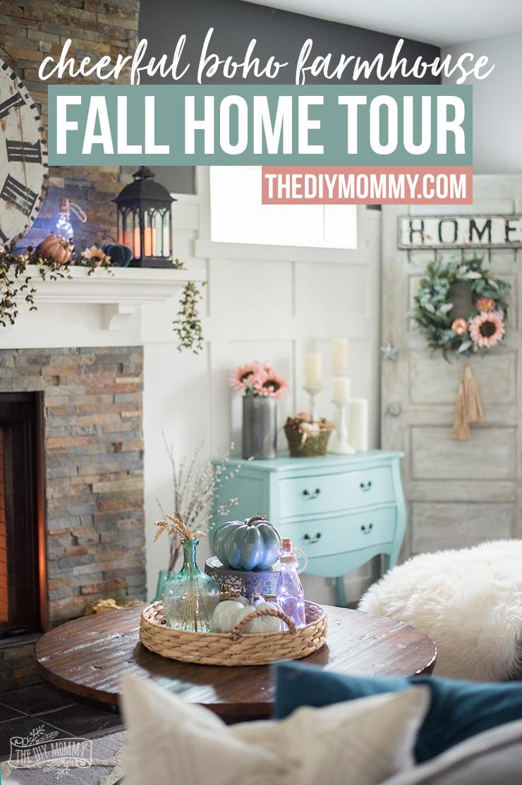 Fall 2017 Home Tour Cheerful Boho Farmhouse Style The Diy