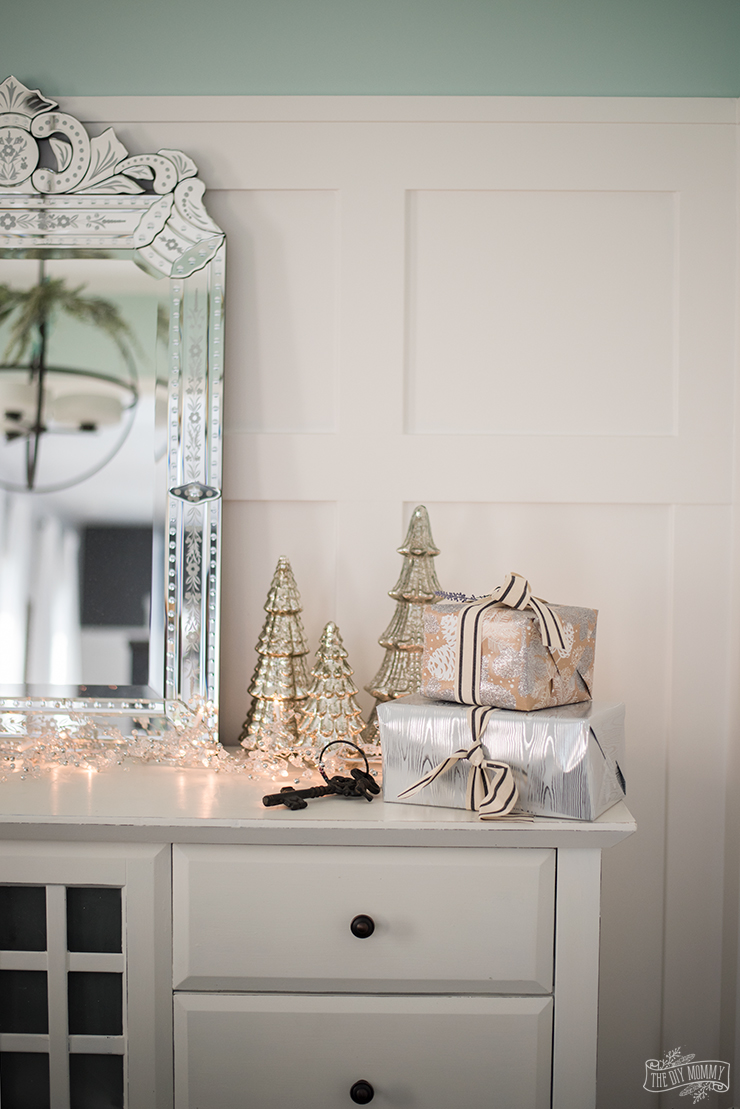 French Country Farmhouse Christmas Dining Room Amp Table Setting The DIY Mommy