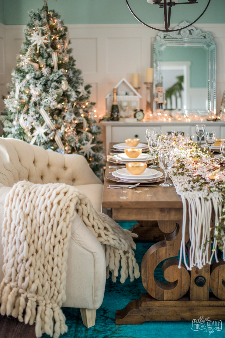Easy New Years Eve Table Amp Decor Ideas The DIY Mommy