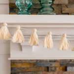 Make A Tassel Garland From Thrifted Yarn The Diy Mommy