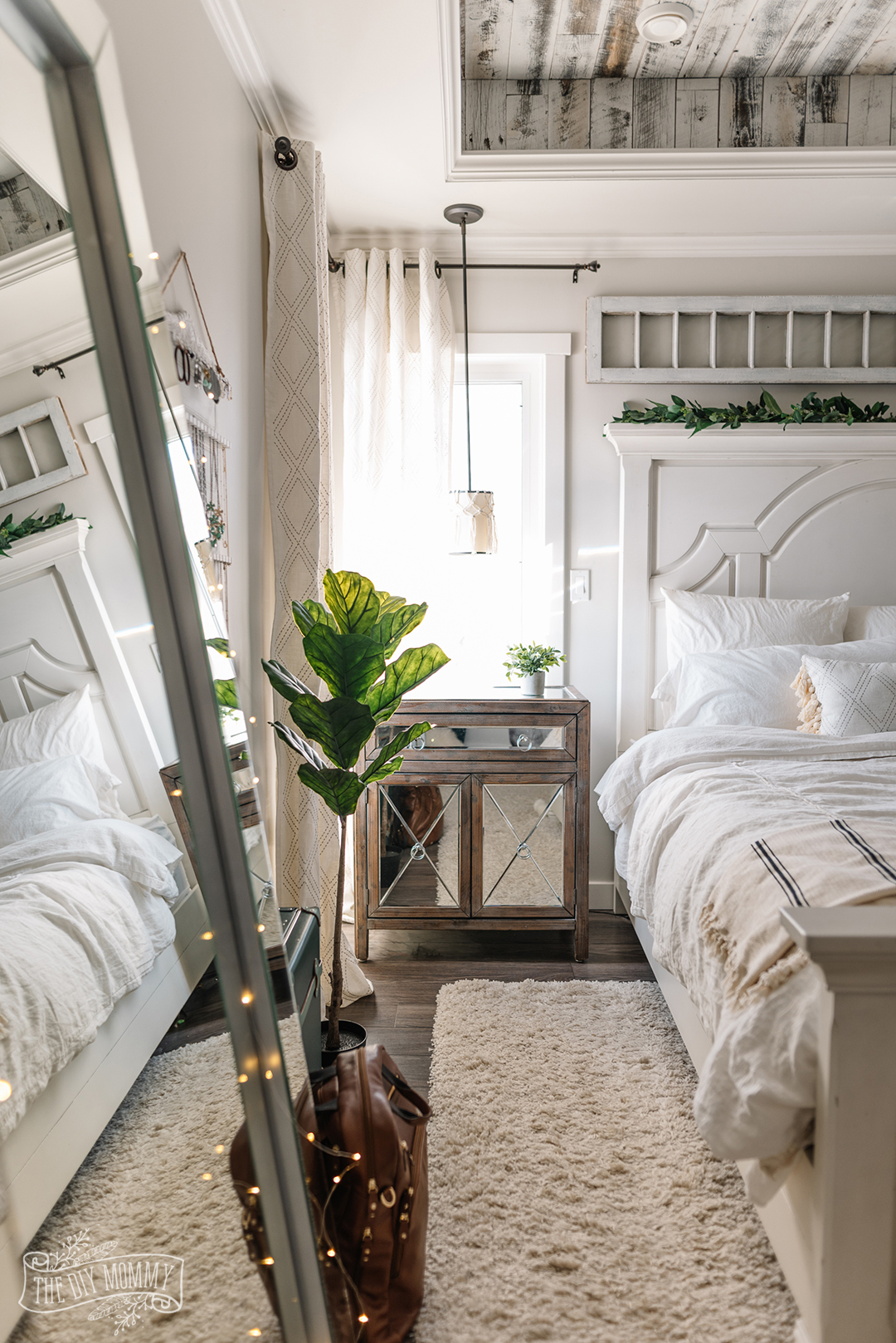 How to Decorate Your Bedroom (without buying anything ... on Boho Master Bedroom Ideas  id=24502