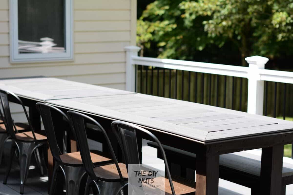 diy outdoor table what to do with