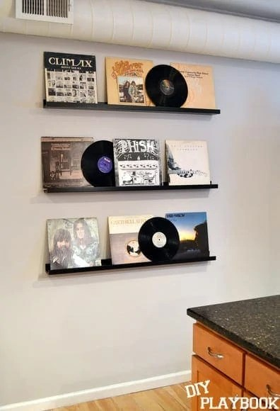 Record-Album-Wall