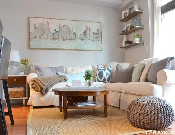 Decorating over the couch diy playbook - Over the couch decor ...