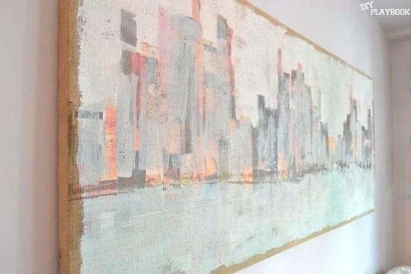 Cityscape Canvas