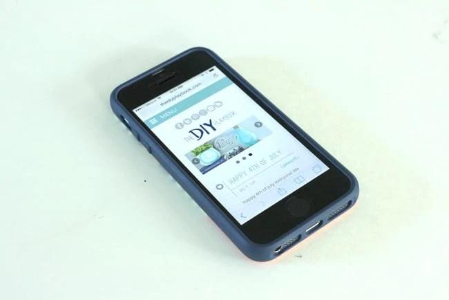 DIY Playbook Cell Phone